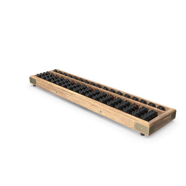 Vintage Soroban Abacus PNG & PSD Images