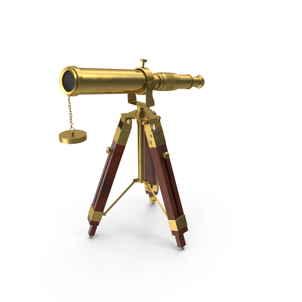 Vintage Telescope PNG & PSD Images