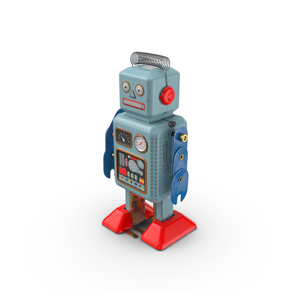 Vintage Toy Robot Object