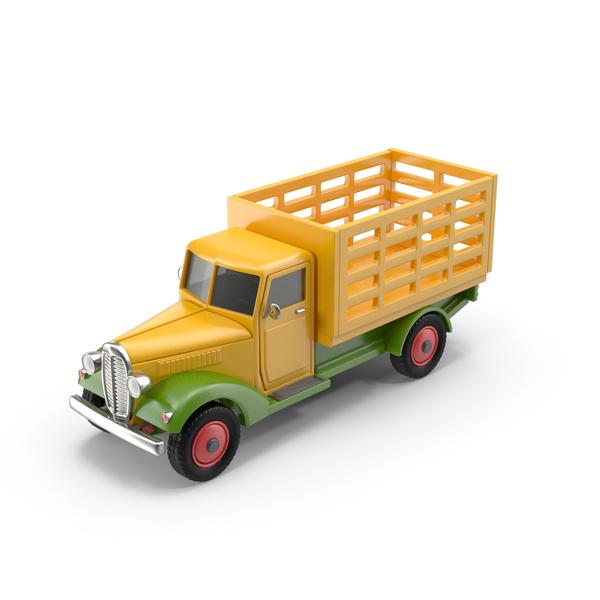 Pick Up: Vintage Truck PNG & PSD Images