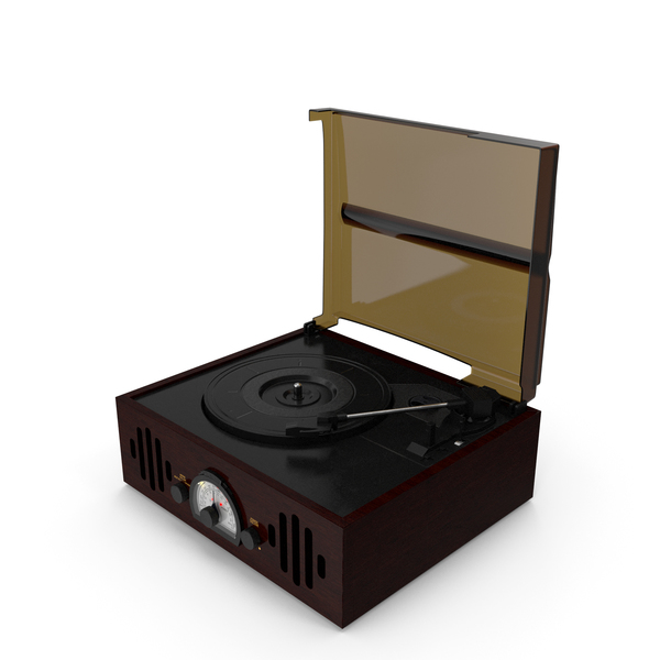 Vintage Vinyl Player PNG & PSD Images