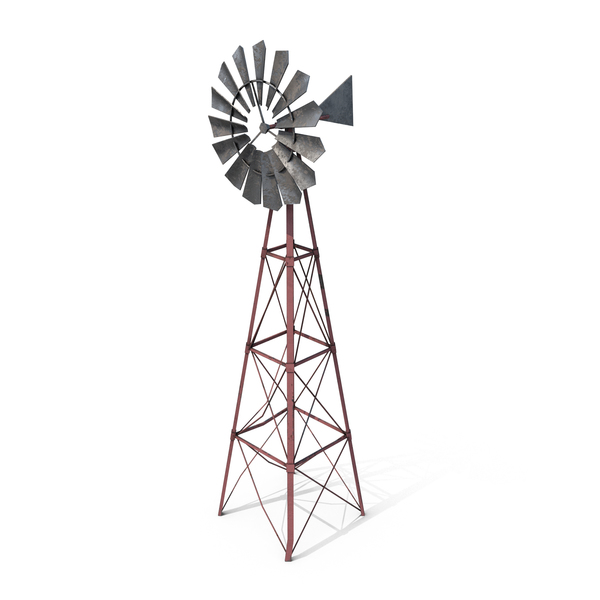 Vintage Windmill PNG & PSD Images