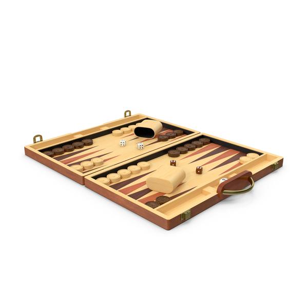 Vintage Wooden Backgammon PNG & PSD Images