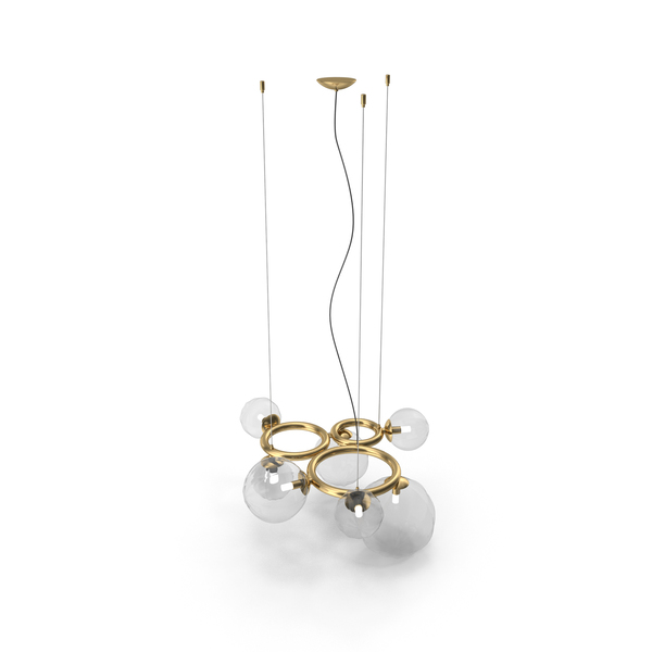 Vistosi Puppet Ring Chandelier PNG & PSD Images