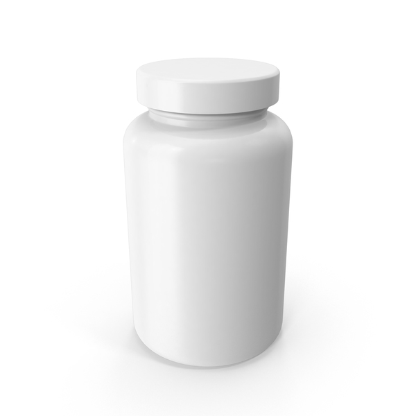 Vitamin Bottle Object
