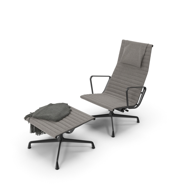 Vitra Aluminium Chair EA 124 PNG & PSD Images
