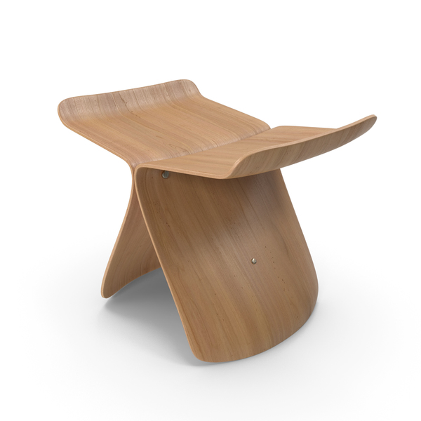 Vitra Butterfly Stool PNG & PSD Images