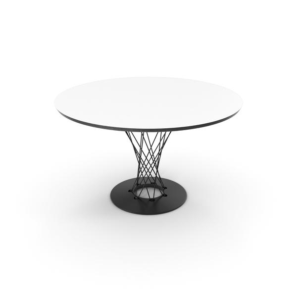 Vitra Dining Table Isamu Noguchi PNG & PSD Images