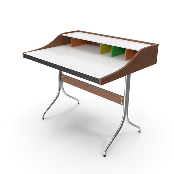Vitra Home Desk George Nelson PNG & PSD Images