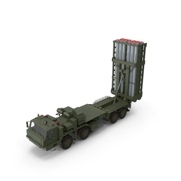 Multiple Rocket Launcher: Vityaz S 350E SAM PNG & PSD Images