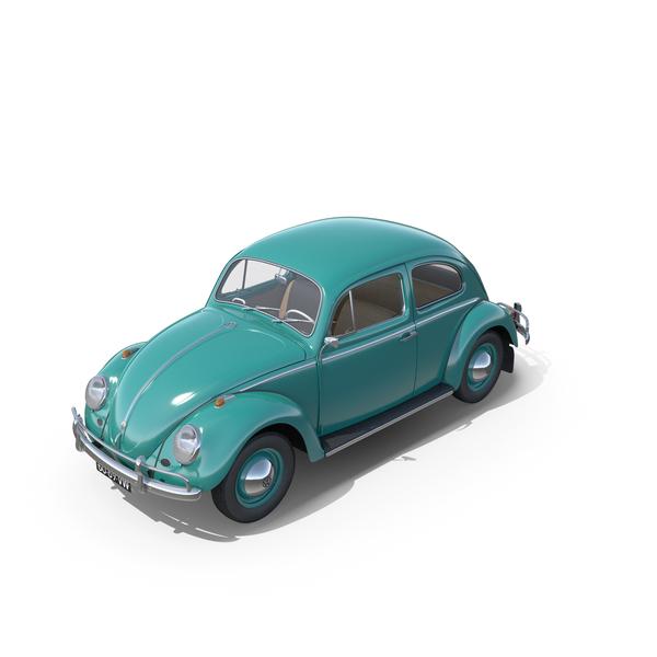 Volkswagen Beetle 1962 Kafer PNG & PSD Images