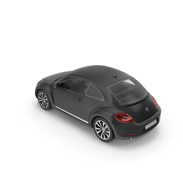 Volkswagen Beetle Black PNG & PSD Images