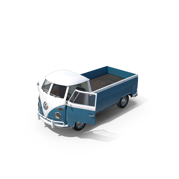 Volkswagen Type 2 Pick-Up PNG & PSD Images