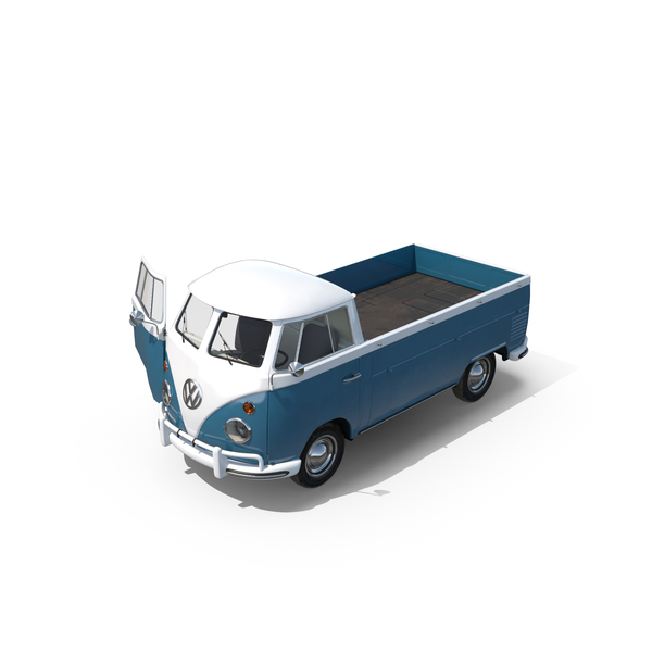 Van: Volkswagen Type 2 Pick-Up PNG & PSD Images