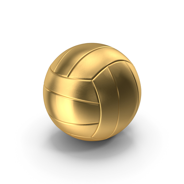 Volleyball Ball Gold PNG & PSD Images