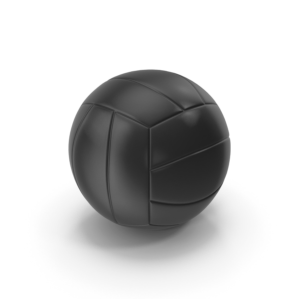 Ball: Volleyball Black PNG & PSD Images