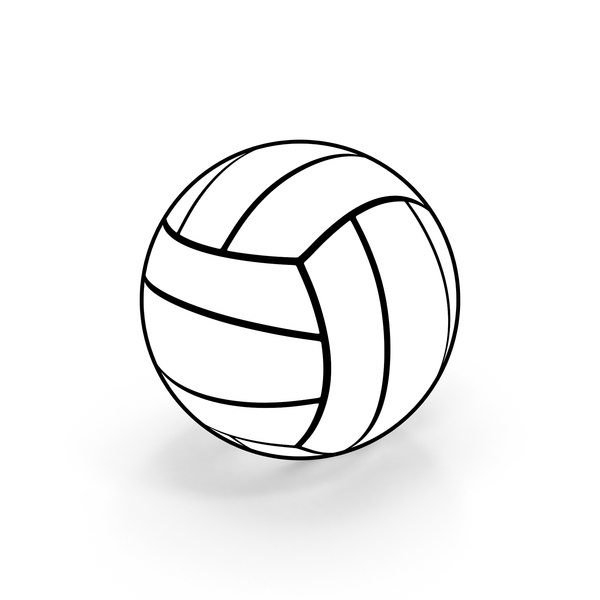 Volleyball Cartoon PNG & PSD Images