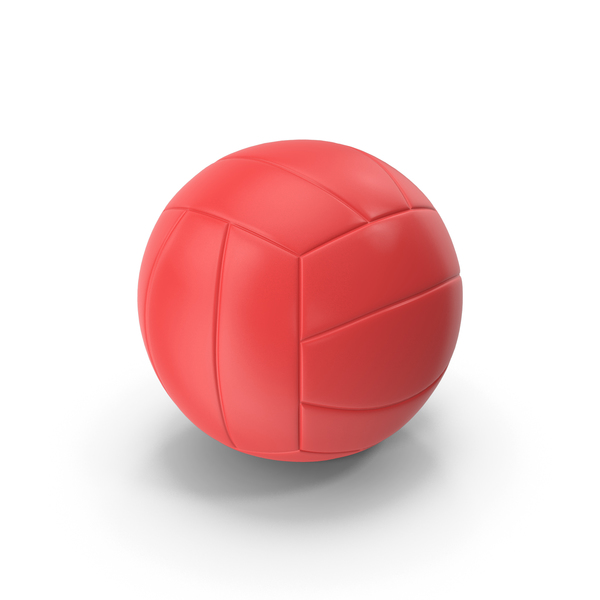 Ball: Volleyball Red PNG & PSD Images