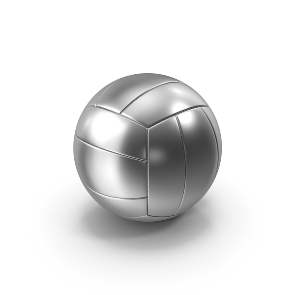 VolleyBall Silver PNG & PSD Images