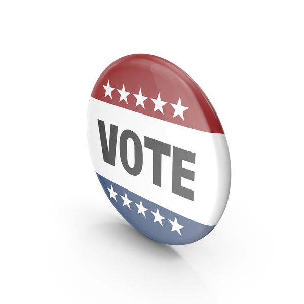 Badge: Vote Button PNG & PSD Images