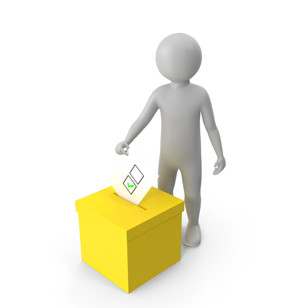 Voting Figure PNG & PSD Images
