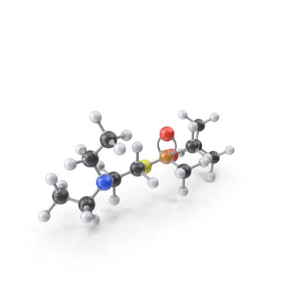VR Nerve Agent Gas Molecule PNG & PSD Images