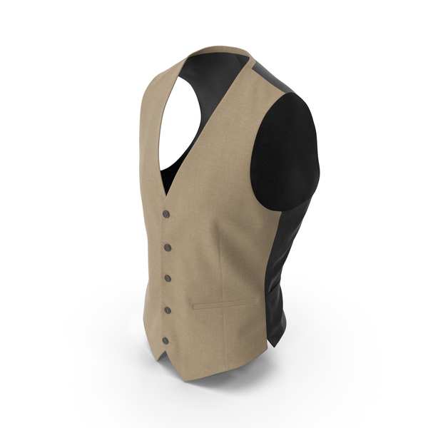 Waistcoat Beige PNG & PSD Images