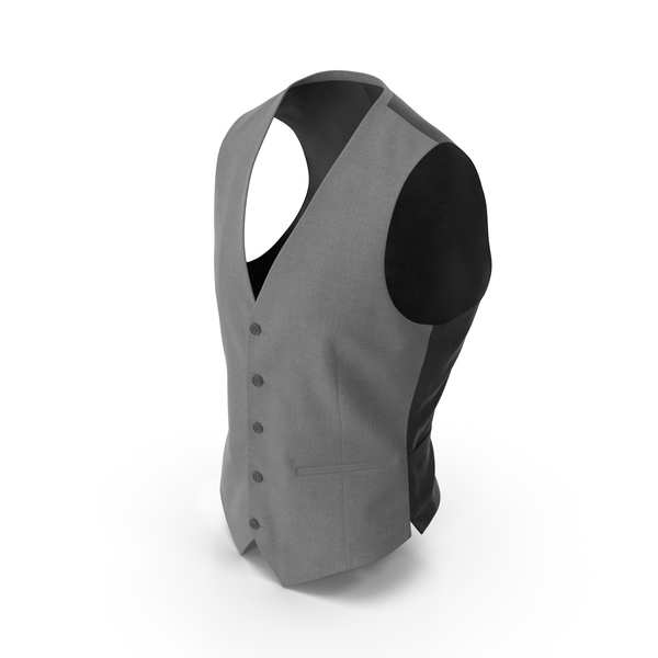 Waistcoat Grey PNG & PSD Images