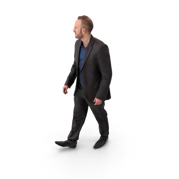 Walking Man Posed PNG & PSD Images