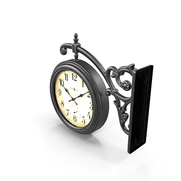 Street: Wall Clock PNG & PSD Images