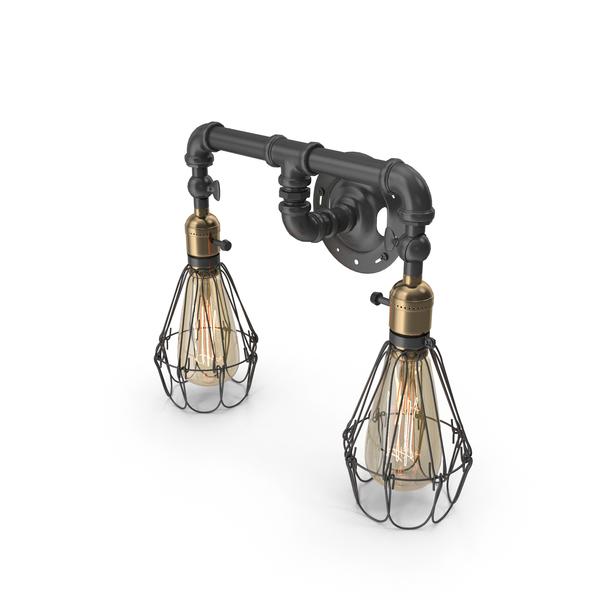 Wall Lamp Loft Hous W-101 PNG & PSD Images