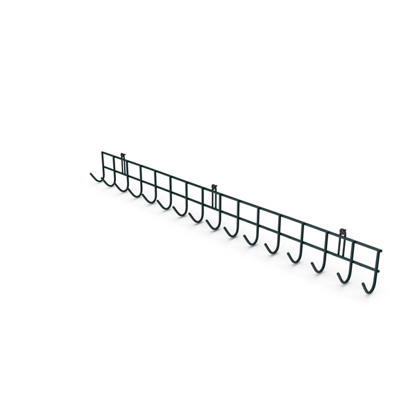 Clothes Hook: Wall Mounted Garage Storage Hooks PNG & PSD Images