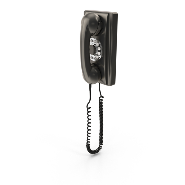 Telephone: Wall Phone PNG & PSD Images