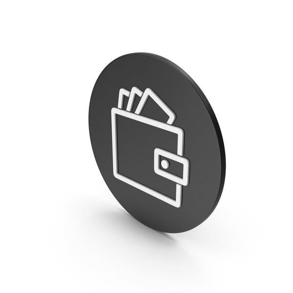 Symbols: Wallet With Money Icon PNG & PSD Images