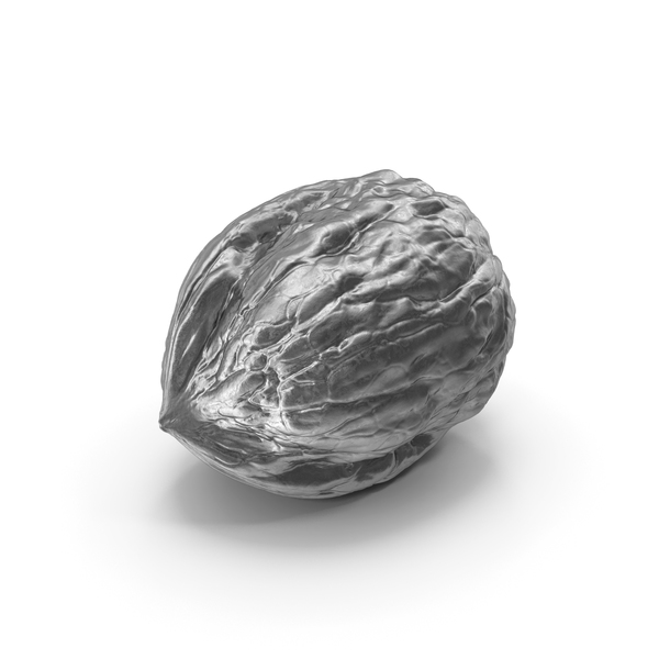 Walnut Silver PNG & PSD Images