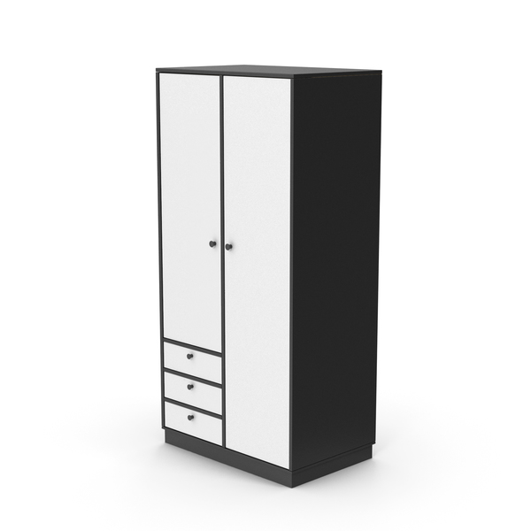 Wardrobe Black and Grey PNG & PSD Images