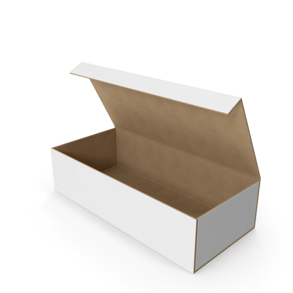 Wardrobe Box White Open PNG & PSD Images