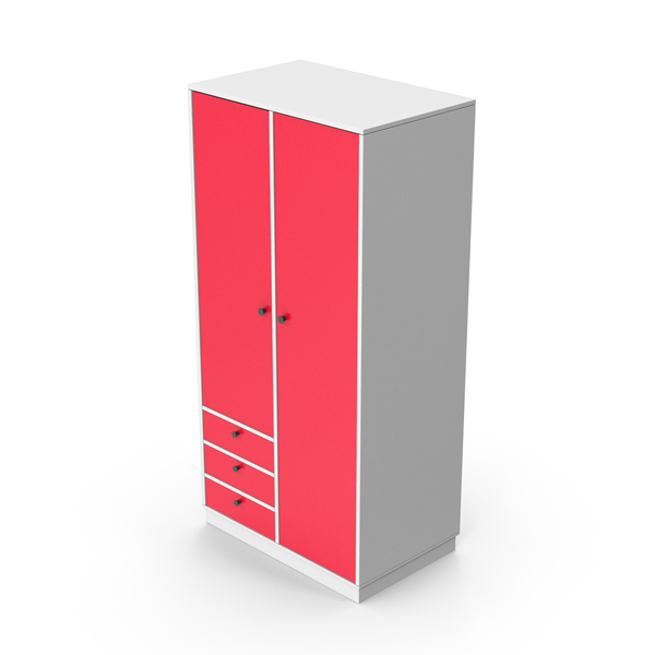 Wardrobe Red PNG & PSD Images