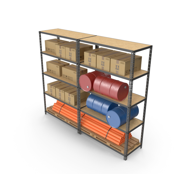 Warehouse Double Rack PNG & PSD Images