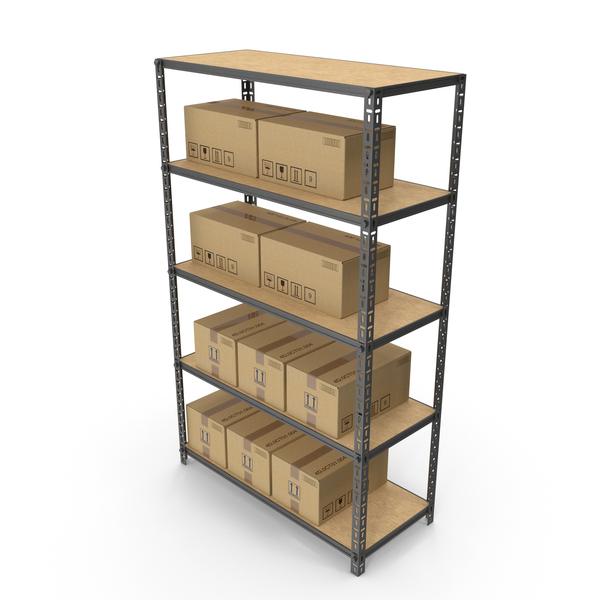 Warehouse Rack PNG & PSD Images