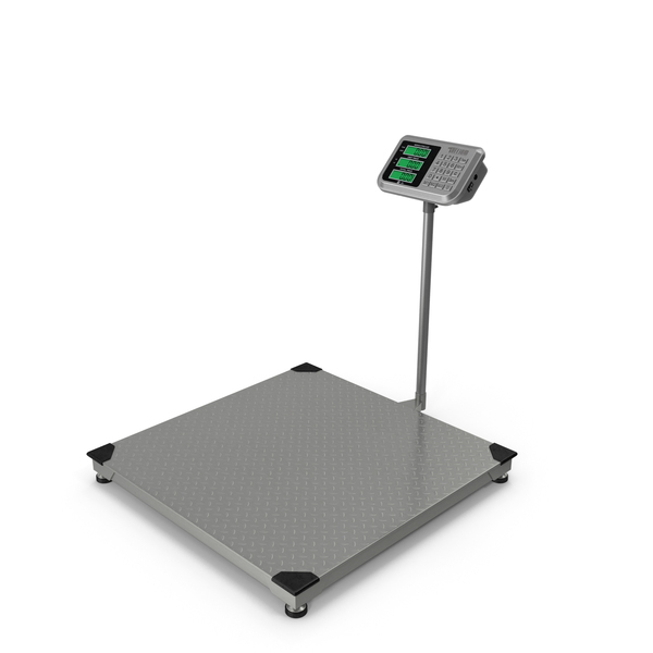 Warehouse Scale with Digital Weight Indicator PNG & PSD Images