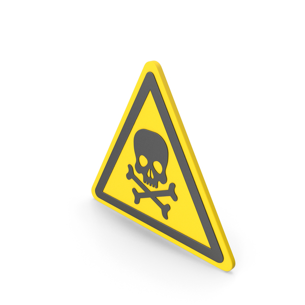 Street Elements: Warning Hazard Symbol PNG & PSD Images
