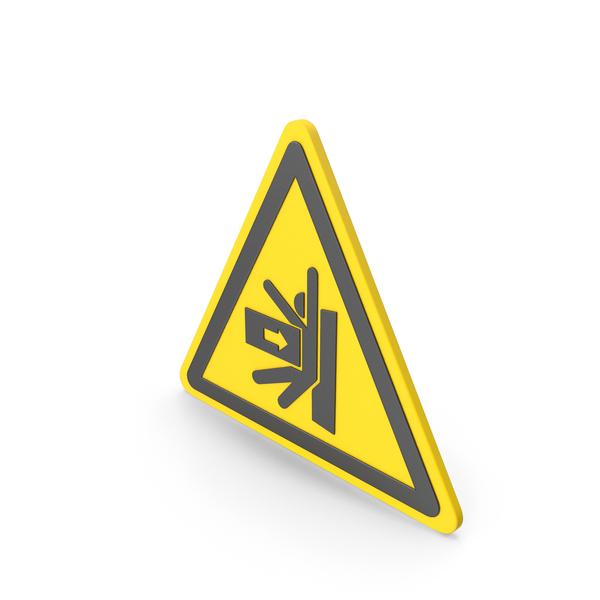 Street Elements: Warning Hazard Symbol PNG & PSD Images