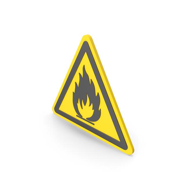 Traffic Signs: Warning Hazard Symbol PNG & PSD Images