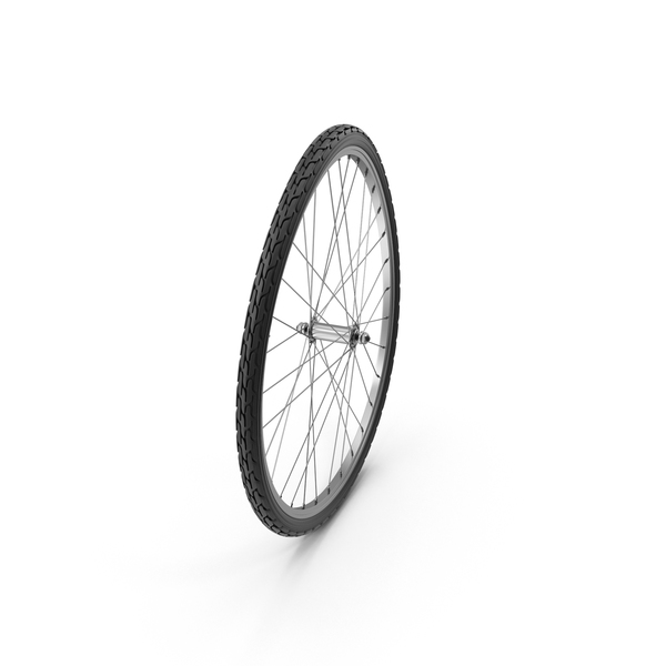Warped Bike Wheel Object