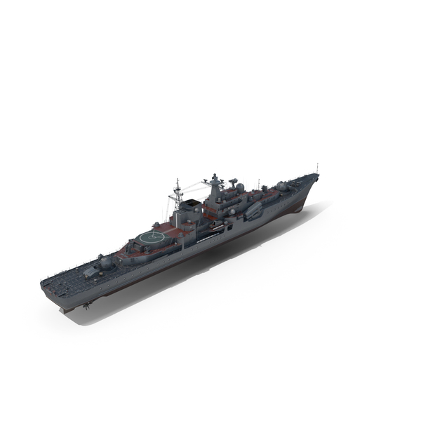 Warship Project 956 Destroyer PNG & PSD Images