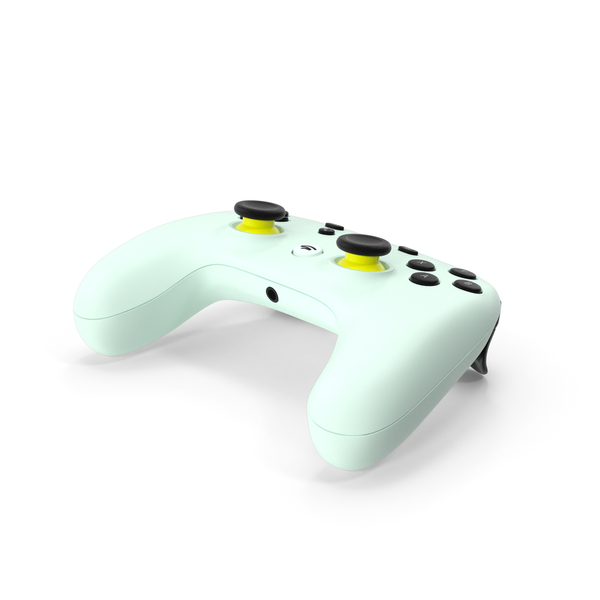Wasabi Color Google Stadia Controller PNG & PSD Images