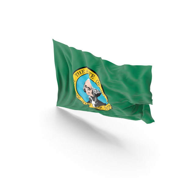 Washington State Flag PNG & PSD Images