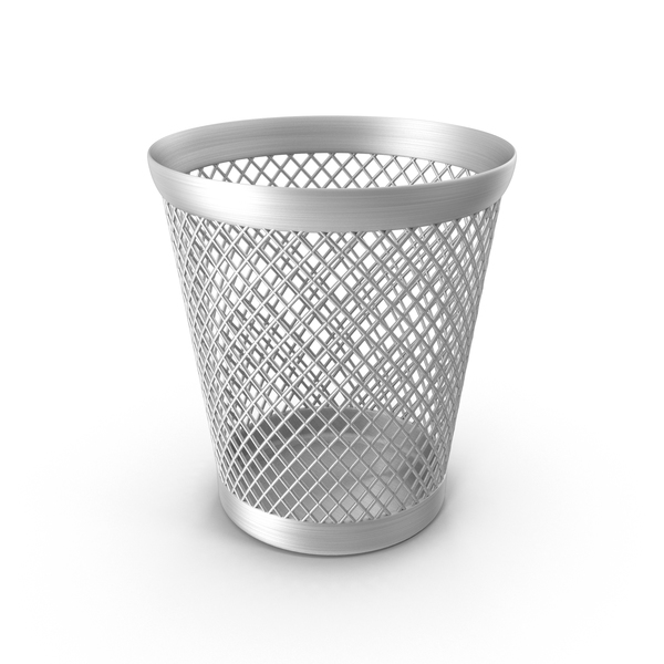 Waste Paper Basket Full PNG & PSD Images