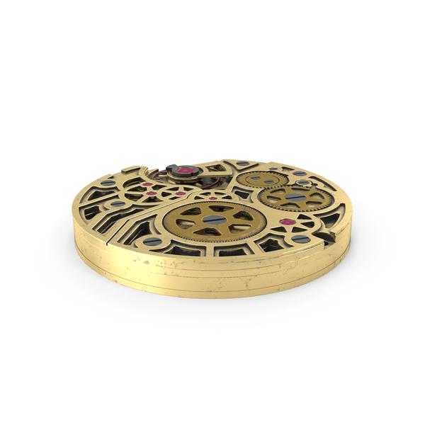 Clock: Watch Mechanism PNG & PSD Images